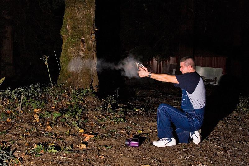 .38 caliber revolver.