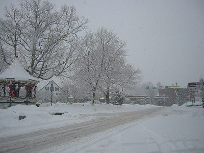 The Oval at Milford, NH.  January 2008