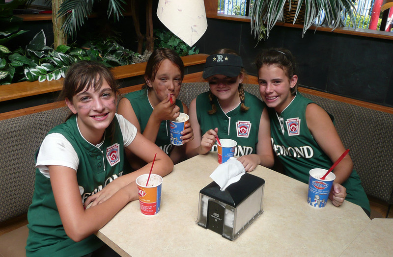 The compulsory ice cream trip to Dairy Queen after the first win
