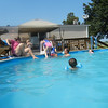 The Stanek Pool was a popular place on a hot day.