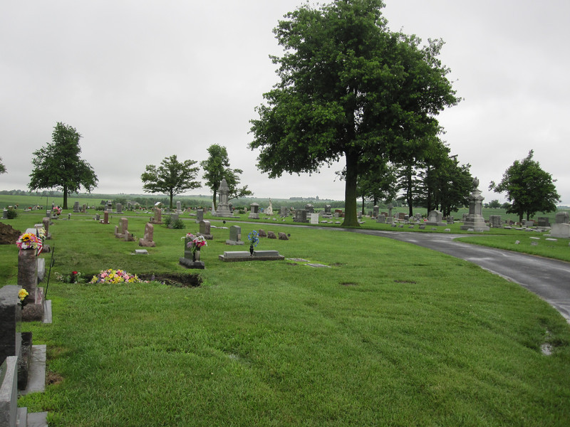 Mt. Hope Cemetery is a very attractive and well-maintained rural cemetery, in addition to being the site of the Davis Memorial.