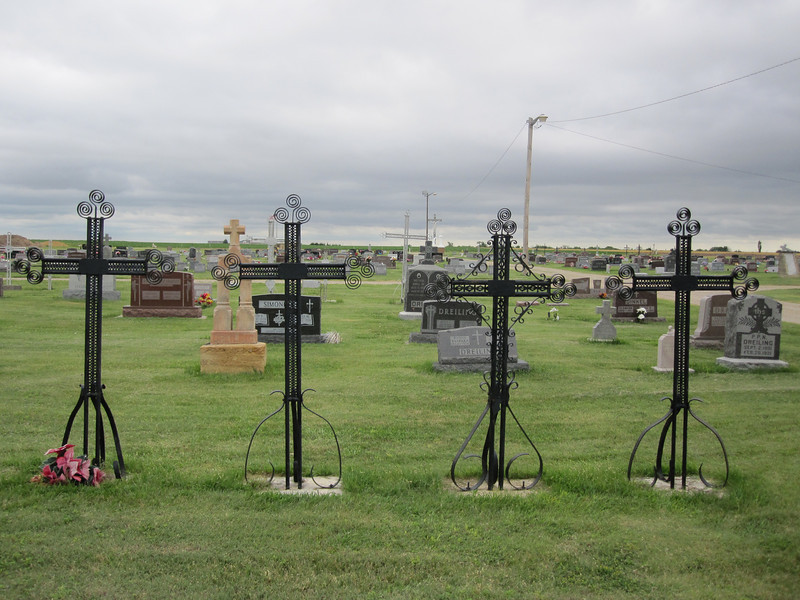 One more look at the fascinating and distinctive cemetery.
