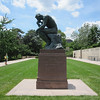 Yep!  It's a Rodin, thinking away.