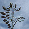 On Sunday, June 6, Carol and I went to Powell Gardens.  The wind sculptures that Carol had admired were still there.  They were wonderful.  I wouldn't mind having one in my own yard.  All I need is a spare $1,000 or more....