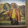 June 16, 2010.  Nelson-Atkins Art Museum.  I liked this painting of a cowboy, by Peter Hurd.