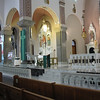 "I am including just a few pictures of the interior of this transcendently beautiful church.  You can begin to see why it was named one of the ""Eight Wonders of Kansas.""  Carol got better pictures of the interior, which was not well lighted.  This is not surprising because she has a much better camera.  Most of mine were blurry because of the low light."