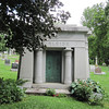 Mt. Mora Cemetery.  The Egyptian influence was popular for 19th-century mausoleums.  I saw several in Bellefontaine Cemetery in St. Louis, too.