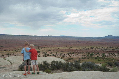 We stopped at a scenic overlook on Hwy 70.