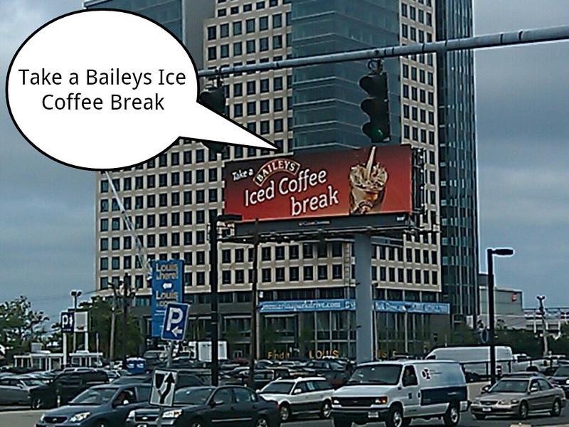 Take a Baileys Ice Coffee Break