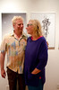 Stuart and wife Tara Marcus - Moe's Day Celebration - Art Exhibition and music-dance party (Moshe Amadeus King)