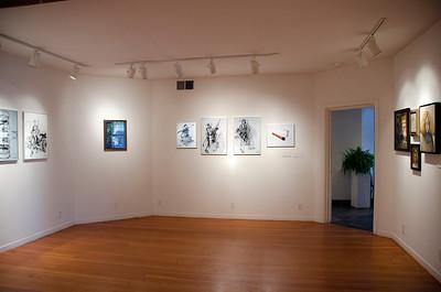 Moe's art work - Moe's Day Celebration - Art Exhibition and music-dance party (Moshe Amadeus King)