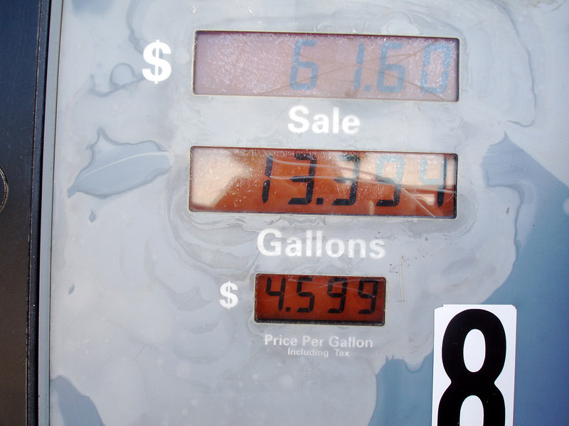 Just to be on the safe side, we stopped at Fenner (7 miles north of Essex Rd offramp) to buy gas before heading for home. $4.60 a gallon. Yikes!