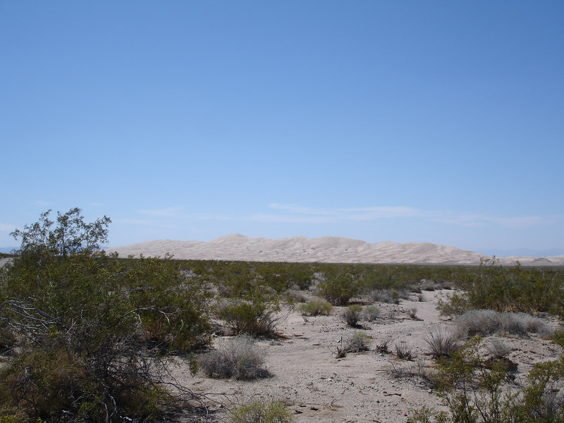"<a href=""http://www.answers.com/topic/kelso-dunes"" target=""_blank"">Kelso Dunes</a> come in to view."