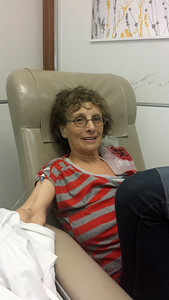 First and last chemo on August 8, 2013