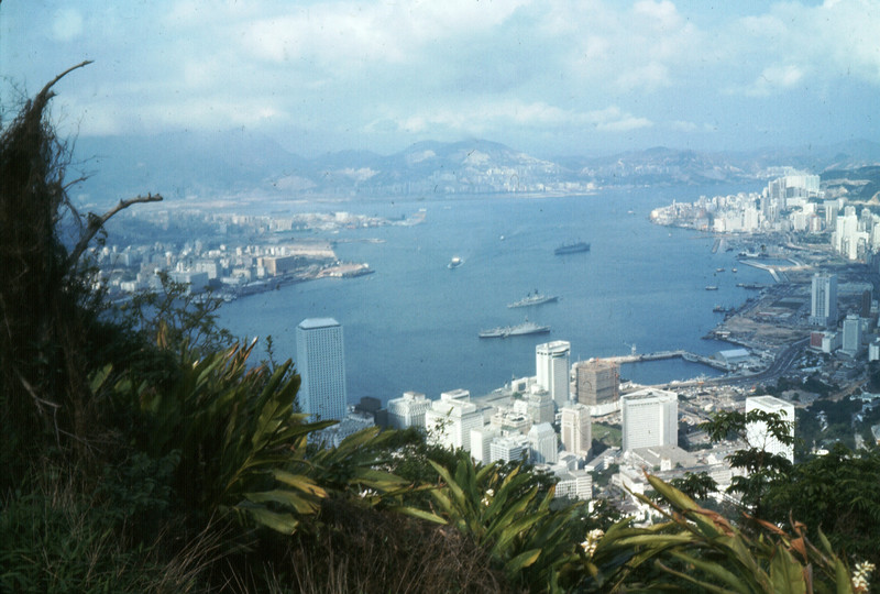 Hong Kong Harbor, April 1974