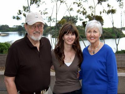 Mom & Dad in SB, February 2009