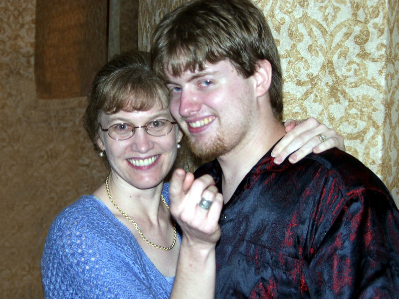 Deana and Michael Ashley Menard in June 2001.