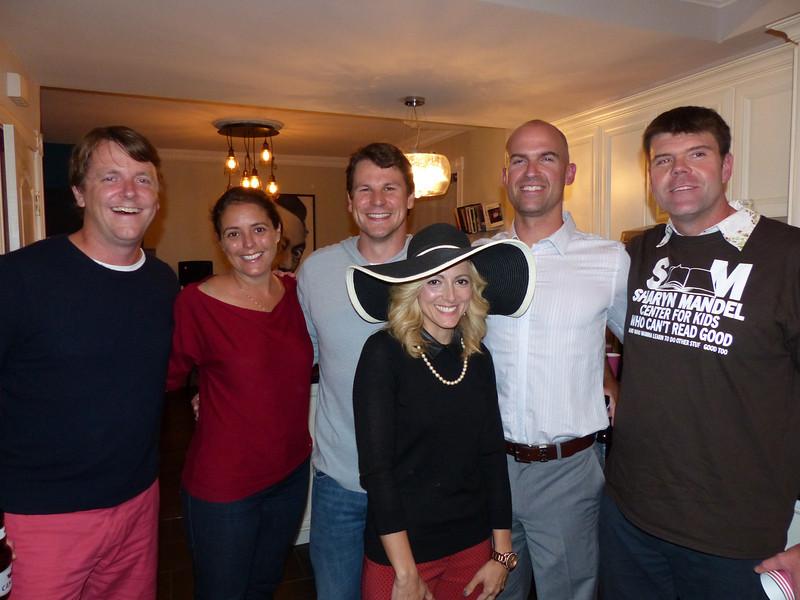 Scace, Rach, Wylie, Ed, Mike, and Amanda