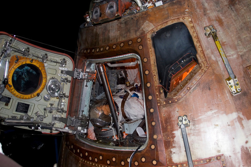 Apollo 17 Command Module, Space Center Houston, February 2008