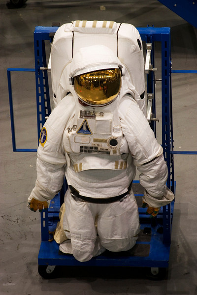 Space Shuttle, Extravehicular Activity (EVA) Suit, Space Center Houston, February 2008
