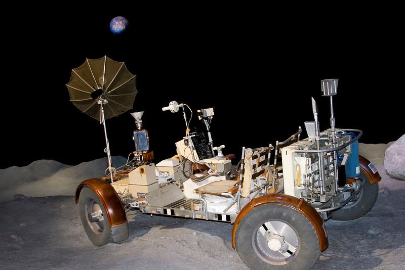 Lunar rover, Space Center Houston, February 2008