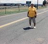 Mom standing in the road AZ