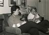 Tanya & Mom Christmas 1988