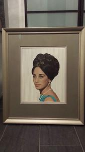 Grad painting , framed