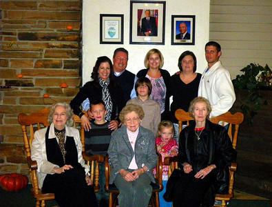 Mom Stewart 80th Birthday Celebration, Cumberland Mountain State Park, Crossville TN November 5-7, 2010