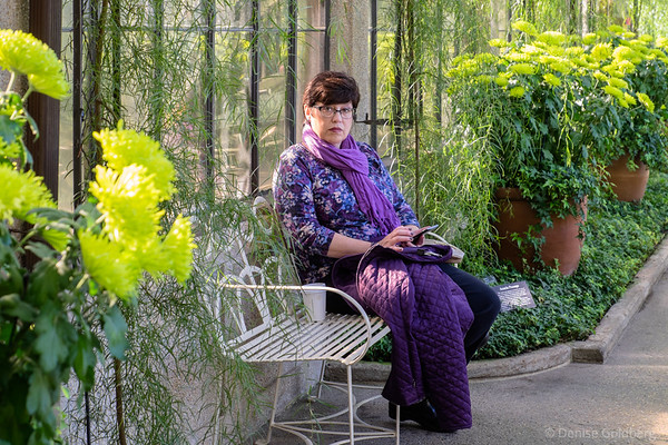 Suze at Longwood Gardens