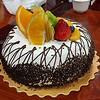Birthday cake from Steven.
