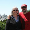 Mom and Tom at the Coit Tower.