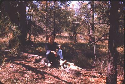 Larry Jones, Laguna Mountains near San Diego, California circa 1964