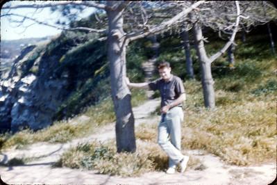 larry Jones at Torrey Pines, San Diego, California circa 1963