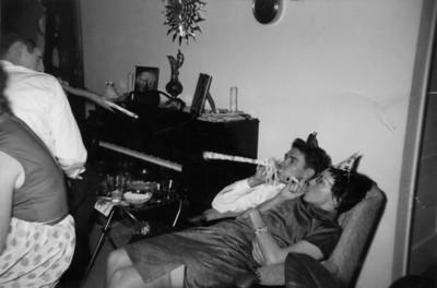 Larry and Priscilla Jones, New Years eve 1962
