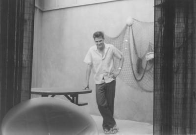 larry Jones, apartment on Thomas Street, San Diego, Ca. 1961