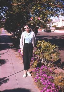 Priscilla Jones, La Playa Avenue, San Diego, California  March 1964