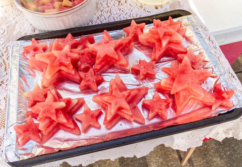 9873. Watermelon stars.