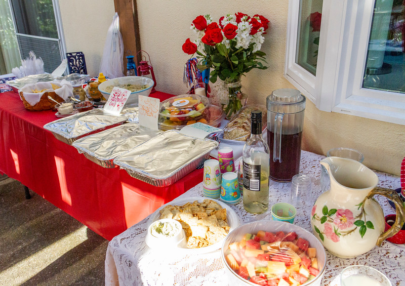 9866. Potluck food: The neighbors cooked up a storm