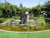 fountain at the Luther Burbank home and garden