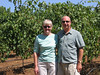 mom and dad at Benziger Family Winery