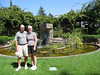 mom and dad at the Luther Burbank home and garden