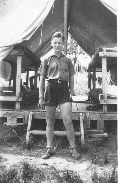 Bill Bond - Camp - 1929