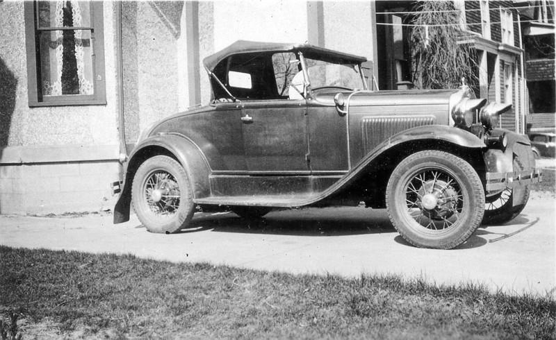 HEM 1st car  4 15 1934