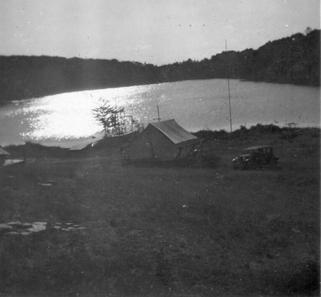 Camp Arrowhead   Sundown   1928