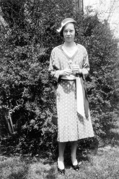 Dot Goding, Age 13. She lived, I believe, in what became the Huppe's house at 143 Leroy Street