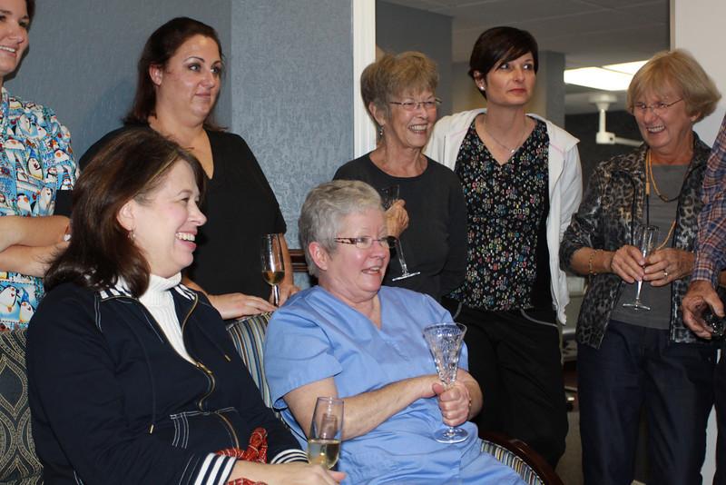 Sue's retirement party 045
