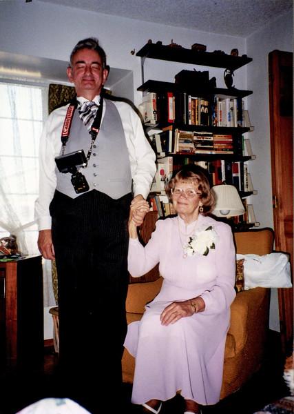 Dressed for Susan's wedding?