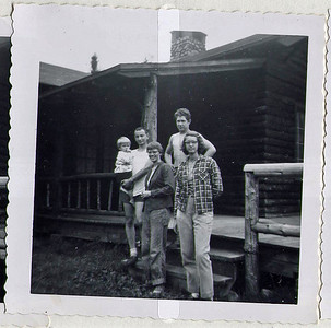 John's Brook Lodge, Adirondaks, w/Ellen and hired help