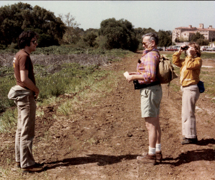 Parents & Jim hiking 1984